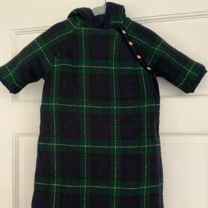 NWOT Ralph Lauren Plaid wool bunting! Never worn